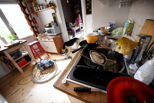 Kodin keittiö